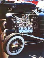 32 Ford Coupe Flathead Hot Rod Engine
