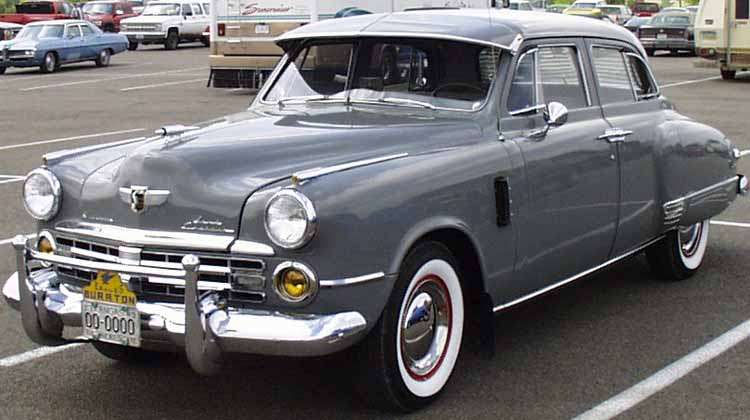 48 Studebaker Land Cruiser 4dr Sedan