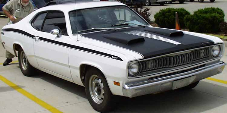 71 Plymouth Duster 340 Coupe