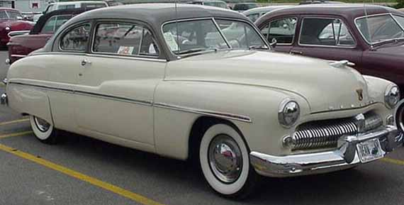 49 Mercury Tudor Sedan