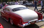 51 Mercury Chopped Tudor Sedan Leadsled