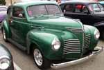 40 Plymouth 2dr Sedan