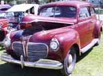 41 Plymouth 2dr Sedan
