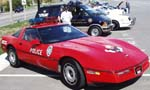 86 Corvette Wichita Police Cruiser