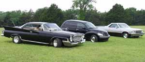61 Chrysler, 02 Chrysler, 79 Chevy El Camino