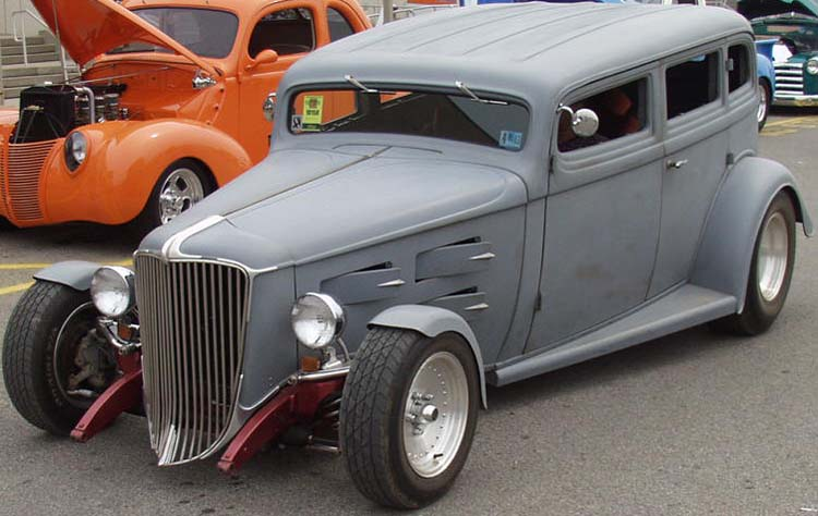 34 Nash Hiboy Chopped 4dr Sedan