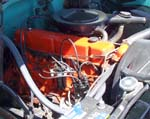 71 Chevy SWB Pickup 6cyl Engine