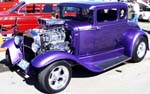 30 Ford Model A Chopped Coupe