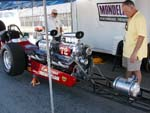 60s Freight Train Twin Engine Dragster