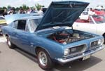68 Plymouth Barracuda 2dr Hardtop