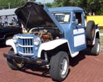 62 Willys Jeep Pickup 4x4