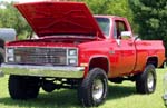 83 Chevy SWB Pickup Lifted 4x4