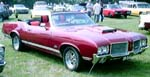 71 Oldsmobile Cutlass Convertible