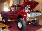 72 Chevy LWB Pickup Lifted 4x4
