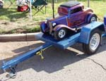 32 Ford Chopped 3W Coupe on Trailer