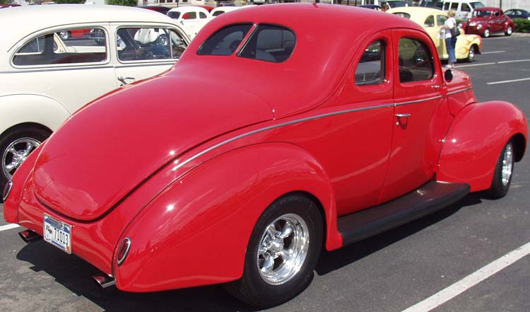 39 Ford Deluxe Coupe