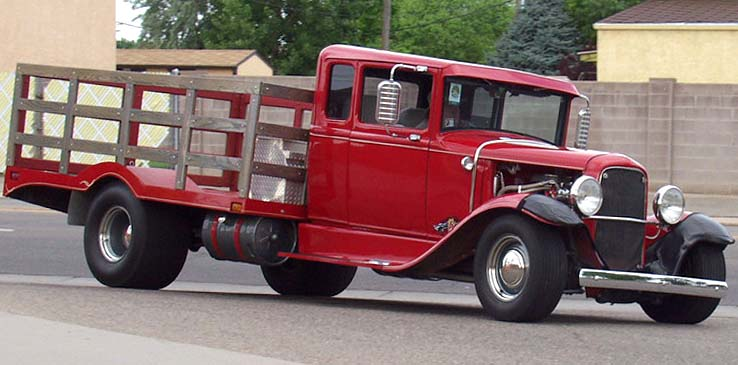 31 Ford Model AA Xcab Flatbed Pickup