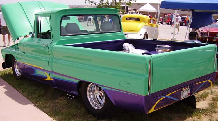 62 Chevy LWB Pickup