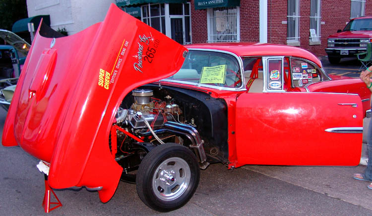 55 Chevy 2dr Hardtop Gasser Style