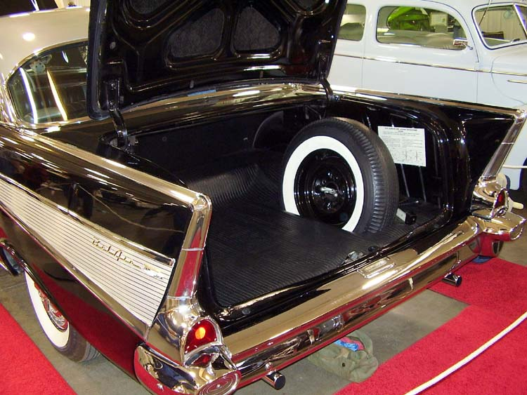 57 Chevy 2dr Hardtop Trunk