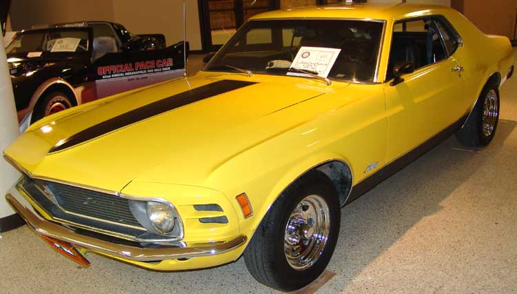 70 Ford Mustang Coupe