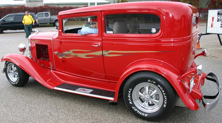 31 Chevy Chopped 2dr Sedan