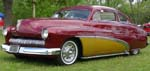 50 Mercury Chopped Tudor Sedan Custom