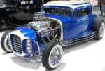 32 Ford 'Alexander Bros' Hiboy Chopped 3W Coupe Custom