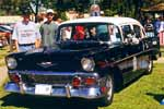 56 Chevy 4 door Squad Car