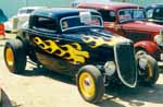 34 Ford 3 Window Coupe Hiboy Hot Rod